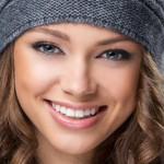 Winterliches Braut-Make-up im Winter