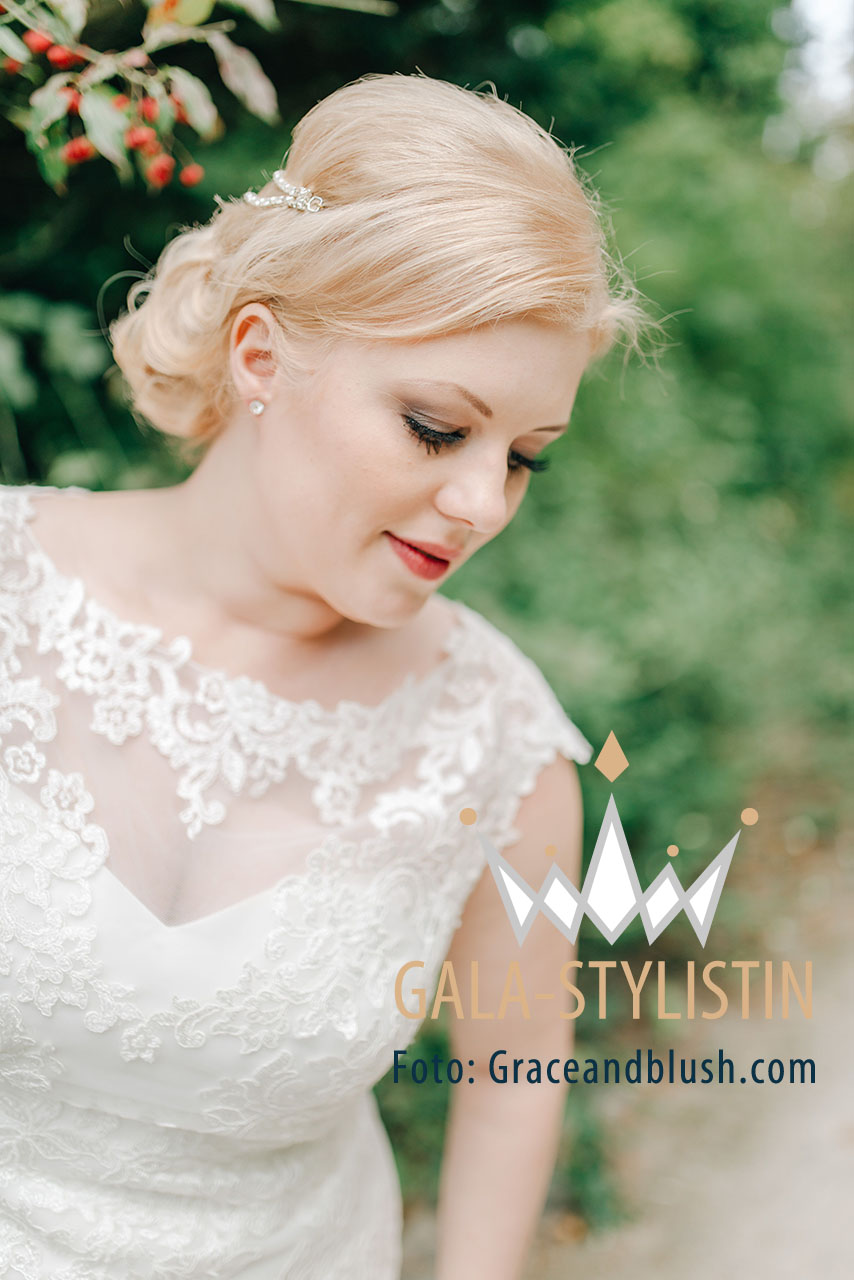 Christina, Make-up zur Traumhochzeit in Hof