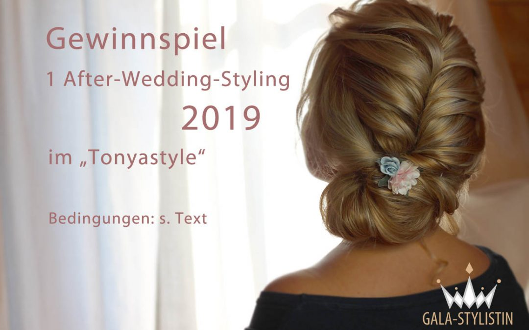 Gewinne dein After-Wedding-Styling auf Facebook